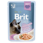 Brit Cat Delicate Salmon in Gravy for Sterilised 85g