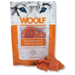 Recompensa caini Woolf Snack pui si morcov 100 gr