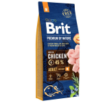 Hrana uscata Brit Premium by Nature Adult M 15 Kg