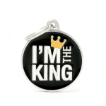 Medalion tag MyFamily I'm The King 59526