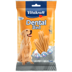 Recompensa pentru caini Vitakraft Dental Snack 3in1 Medium 180gr