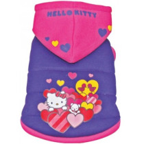 Hello Kitty Hanorac Gluga 25 cm