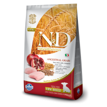 N&D Low Grain Pui si Rodie Puppy Mini 12kg