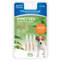 Francodex Pipeta Antiparazitara Caine 2 ml x3 buc/blister