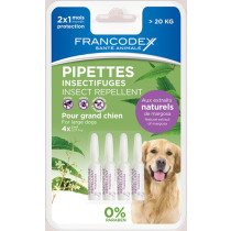 Francodex Pipeta Antiparazitara Caine 2 ml x4 buc/blister