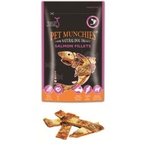 Recompensa caini Pet Munchies File Somon 90 gr
